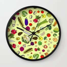 Vegetable Soup Recipe Wall Clock