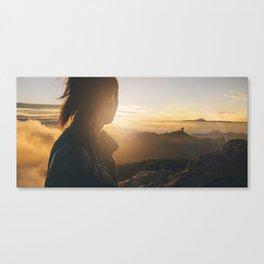 Islander sunset Canvas Print