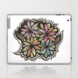 Floral Collage Laptop & iPad Skin