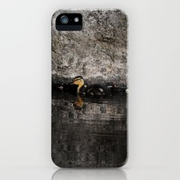 The little anatinae iPhone Case