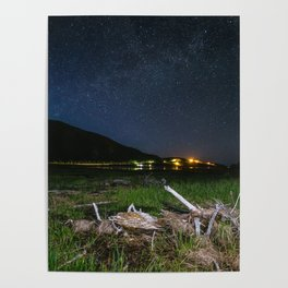 The Milky Way over Cape Breton Poster