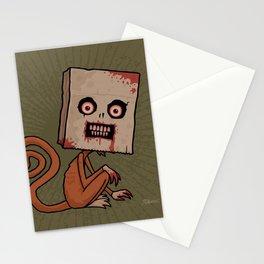 Psycho Sack Monkey Stationery Cards