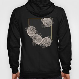Flowers on a winter night Hoody