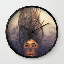 Emergence of Fierce Tranquility Wall Clock