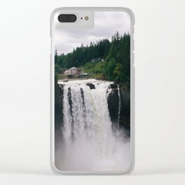 Twin Peaks - Snoqualmie Falls Clear iPhone Case