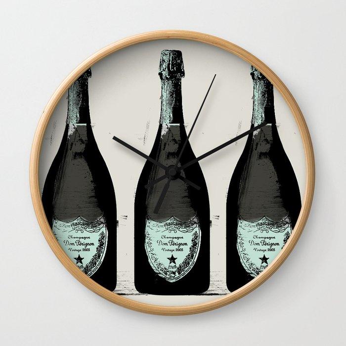 Dom Perignon Champagne Wall Clock
