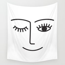 Wink Wall Tapestry