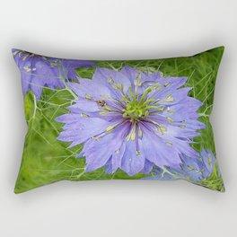 Love In A Mist Rectangular Pillow