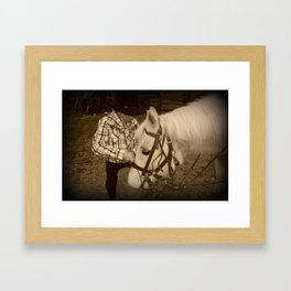Time for some treats. Framed Art Print