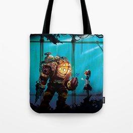Silent Guradian Tote Bag