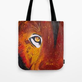Lion - Wild and free - by LiliFlore Tote Bag
