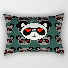 Love Pan Pan Rectangular Pillow
