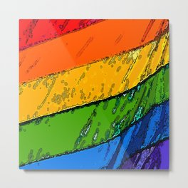 Equality Colors Metal Print