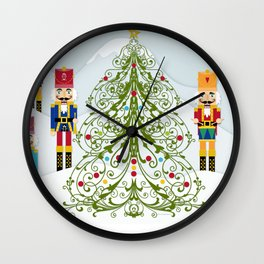 Nutcrackers choir Wall Clock