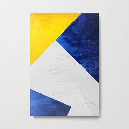 Modern Abstract No1 Metal Print