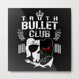 danganronpa bullet club Metal Print