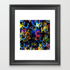 The Most Colorful Framed Art Print