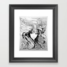 She's Got A Hold On Me Framed Art Print