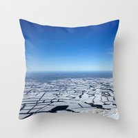 planes Throw Pillows featuring Planes by Max Jones
