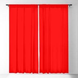 Scarlet Blackout Curtain