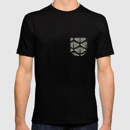 Foliage Black T-shirt
