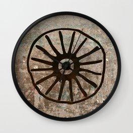 Simbologia Tribal 1 (Islas Canarias) Wall Clock