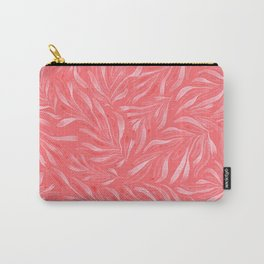 Pink Foliage II Carry-All Pouch