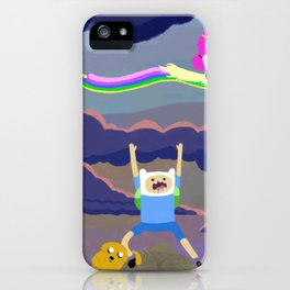 AT character spread iPhone Case