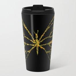 Butterfly Yellow Travel Mug