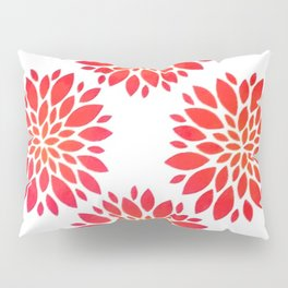 Flower Petals Pillow Sham