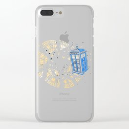 Temporal Boom Clear iPhone Case