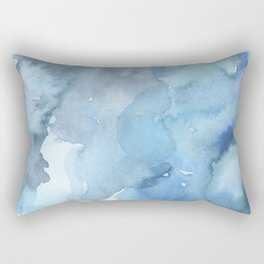 blue#2 Rectangular Pillow