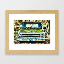 1967 Chevy Truck Framed Art Print