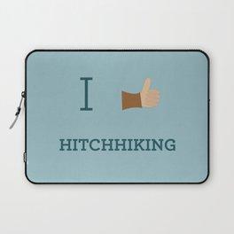 I heart Hitchhiking Laptop Sleeve