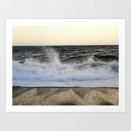 Waves 2 Art Print
