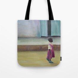 African Girl Tote Bag
