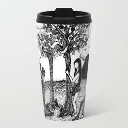 The Garden - Black Travel Mug