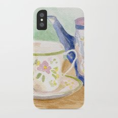 Tea Time Slim Case iPhone X