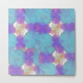 Abstract Tie Dye #4 Metal Print
