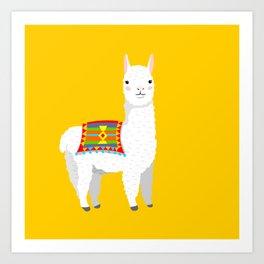 Alpca Art Print
