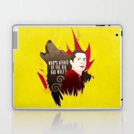 Sterek: Who's Afraid of the Big Bad Wolf? Laptop & iPad Skin