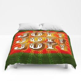 Joy! Joy! Joy! Comforters
