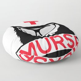 Murse Male Nurse Hospital Health Care Floor Pillow
