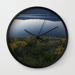 Okanagan Sunflower Wall Clock
