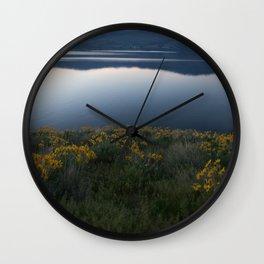 Okanagan Sunflower Wall Clock