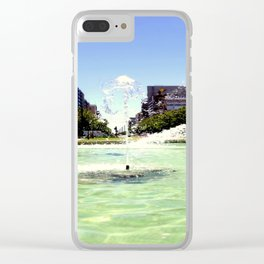 Victoria Square - Adelaide Clear iPhone Case