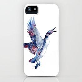 Nebular Loon iPhone Case