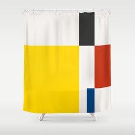 Mid Century Modern Vintage 21 Shower Curtain