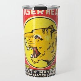 Old Matchbox label #8 Travel Mug