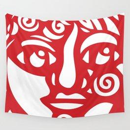 Cara Roja Wall Tapestry